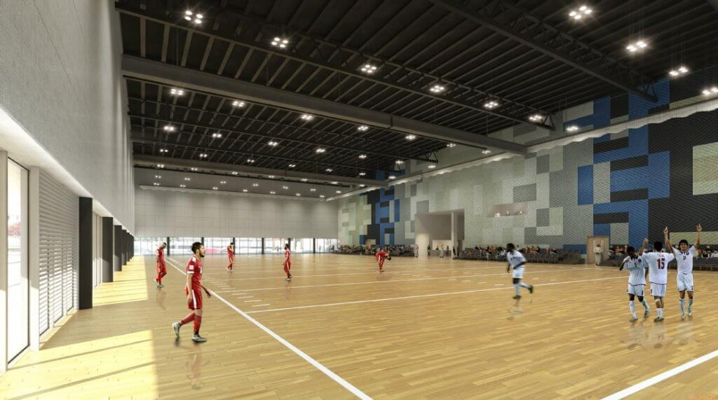 Qatar University Sports & Events Complex Image 1