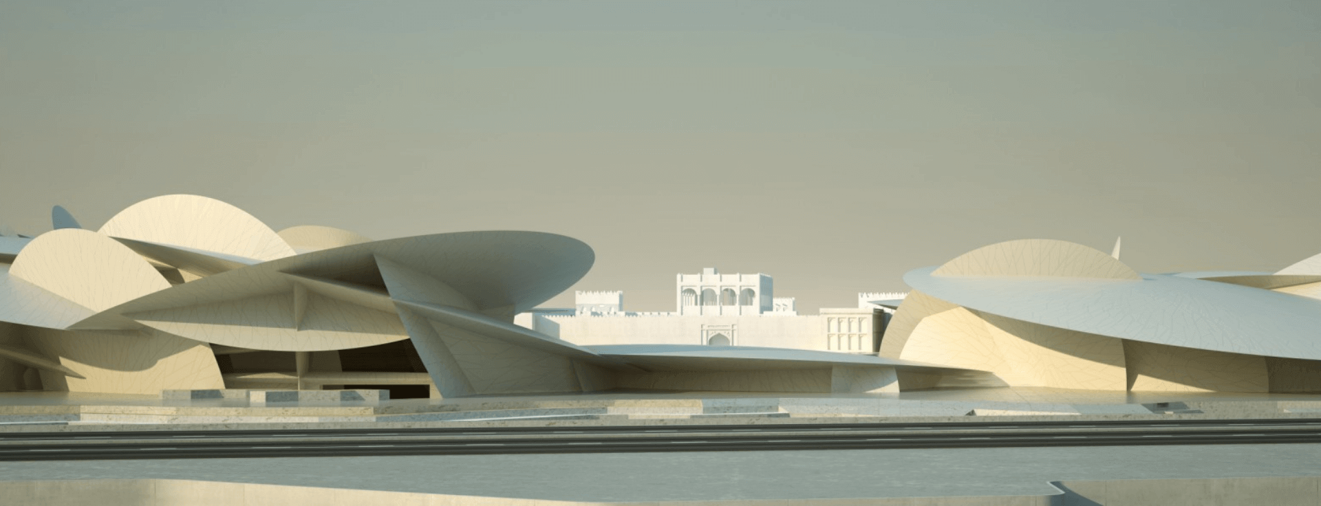 National Museum of Qatar Image Banner