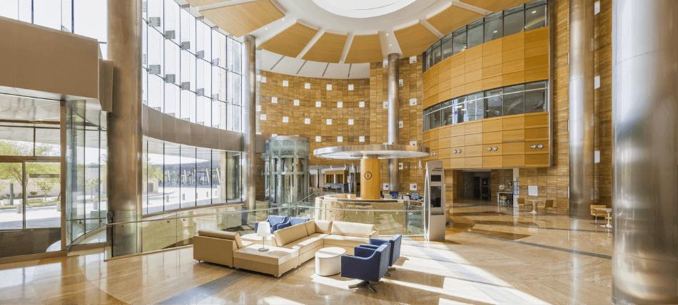 Sidra Hospital Interior Image